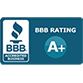 Cambridge has an A+ rating with the BBB